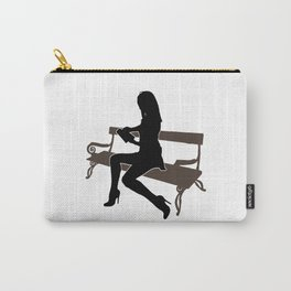Sexy Girl Reading Carry-All Pouch