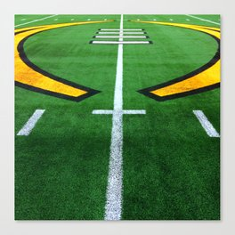 Rugby playing field Canvas Print