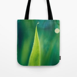 grass and bokeh Tote Bag