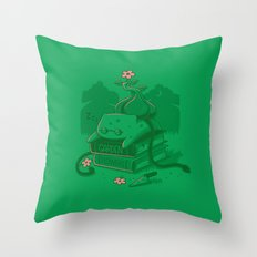 The power of knowledge Throw Pillow