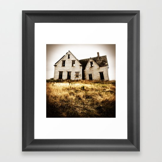 The High Bank House Framed Art Print