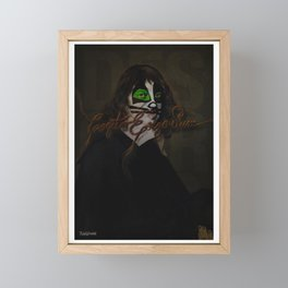 Cogito Ergo Sum Framed Mini Art Print
