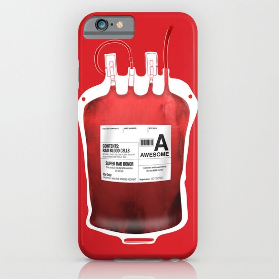 My Blood Type is A, for Awesome! *Classic* iPhone & iPod Case