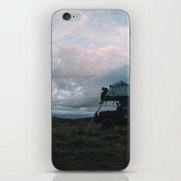 Mountain Camp, NZ iPhone Skin