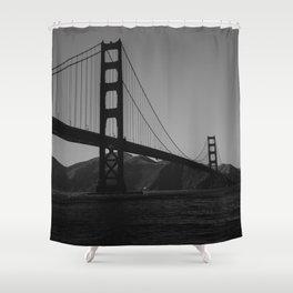 Golden Gate Bridge II Shower Curtain