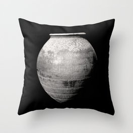 Old Pottery Throw Pillow