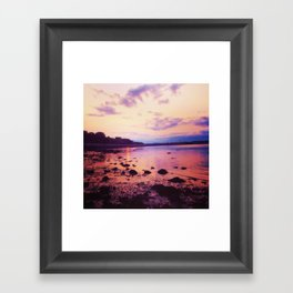 Rocky Coast of Maine Framed Art Print
