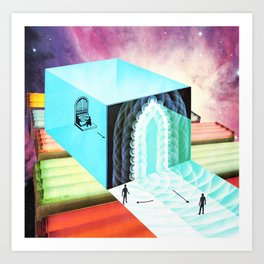 Welcome To The New World X Art Print