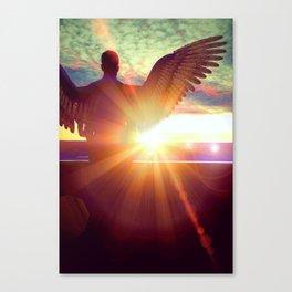 Sunset Guardian Canvas Print