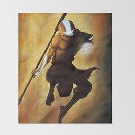 Aang avatar state Throw Blanket