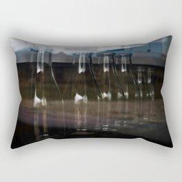 Milk Bottles Rectangular Pillow