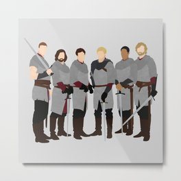 Merlin bbc, The Knights of the Round Table Metal Print