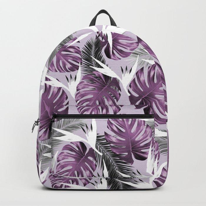 Purple Tropics Backpack