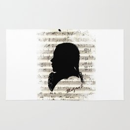 Mozart - Dies Irae Rug