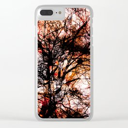 Impressions, tree II Clear iPhone Case
