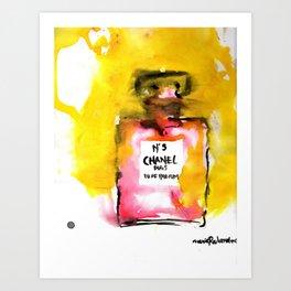 Channel No. 5 Art Print