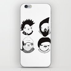 Busts 2° Part iPhone & iPod Skin
