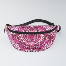 Mandala Hot Pink Colorburst Fanny Pack