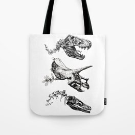 Jurassic Bloom. Tote Bag