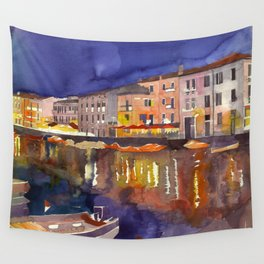 Night in Venice part 1 Wall Tapestry