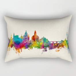 Dresden Germany Skyline Rectangular Pillow