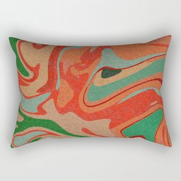Abstract Colorful Pattern Rectangular Pillow