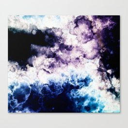 Smokey art Canvas Print