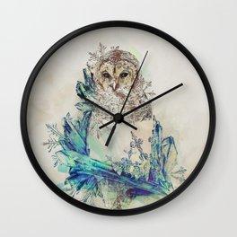 Night Frost Wall Clock