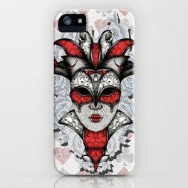 Queen of Harlequins iPhone Case