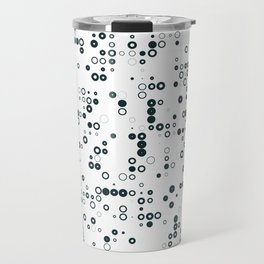 #128 binary Travel Mug