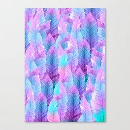 Mermaid Colored Leaves Vibes #1 #decor #art #society6 Canvas Print