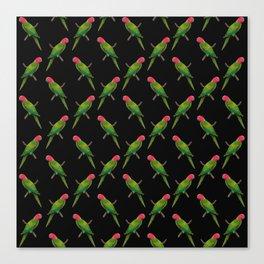 Parrot Pattern Canvas Print