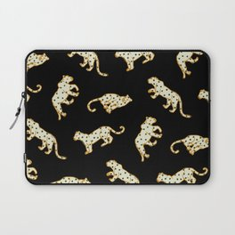 Leopard at Night Laptop Sleeve