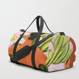 Nude with Calla Lilies by Diego Rivera Duffle Bag