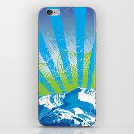 Mt. Alyeska Ski Rise by Crow Creek Cool iPhone Skin