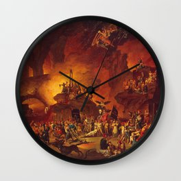 The revolt in the underworld Wall Clock