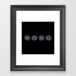 XOXO Game Lovers Framed Art Print