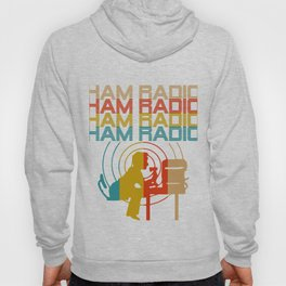 Retro Ham Radio T-Shirt. Best Costume. Hoody