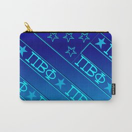 Pi Beta Phi, all Blue Carry-All Pouch