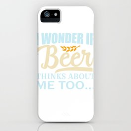 Keg Can drinking alcohol malt hop gift iPhone Case