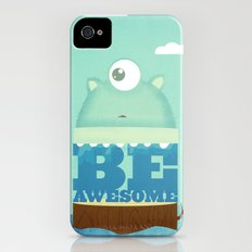 Be Awesome Slim Case iPhone (4, 4s)