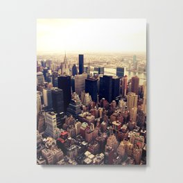 City Of Dreams Metal Print
