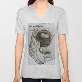 His Indescribable Gift Unisex V-Neck