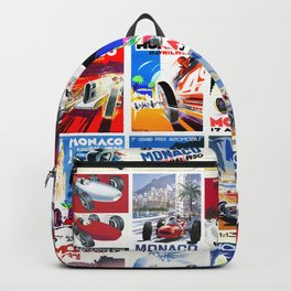 Monaco Grand Prix 1930 1966 Backpack