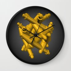 Gathering Wall Clock