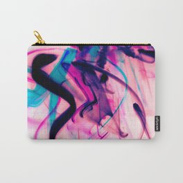 Calligraphy Rain Abstract Painting Carry-All Pouch