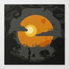 Dirty spooky landscape #2 Canvas Print