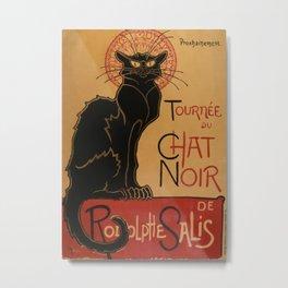 Le Chat Noir - Théophile Steinlen Metal Print