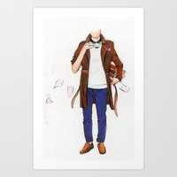 English Man Art Print