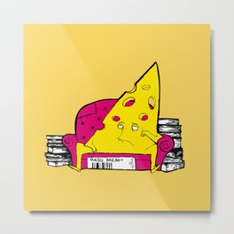 QUESO RALLAO (aka GRATED CHEESE) Metal Print